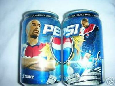 Limited Edition PEPSI can THAILAND feat THIERRY HENRY World Cup 2006 RARE