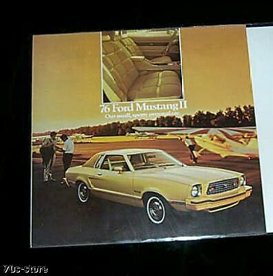 1976 Ford MUSTANG II dealer BROCHURE 6 pages 8-75  095
