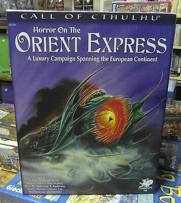 Call of Cthulhu Horror On The Orient Express New Kickstrater Edition NO Envelope
