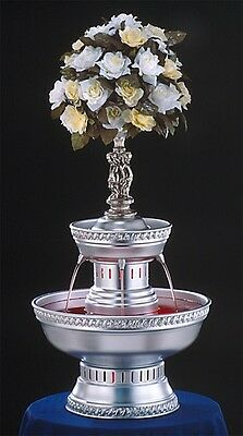 """28"""" Apex Oasis Illuminated Champagne Punch Bowl Beverage Fountain 3 Gallon"""