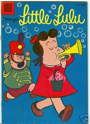 Marges Little Lulu #120 June 1958 F/VF