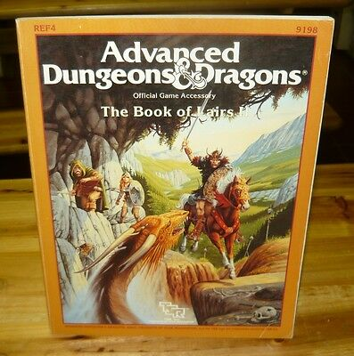 AD&D 1st edition The Book of Lairs II AD&D Encounters Guide Advanced D&D