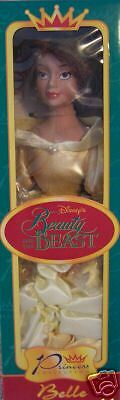 NEW DISNEYSTORE PRINCESS BELLE PORCELAIN DOLL 15 inch