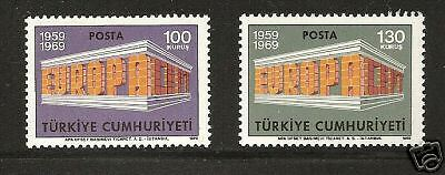 TURKEY # 1799-1800 MNH Europa