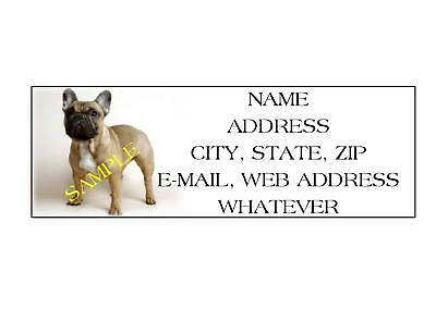 Bulldog Address Labels Cool!!! #3