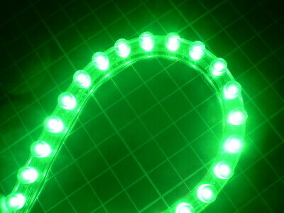 Super Bright 24cm Green LED Strip Car Boat Neon Light