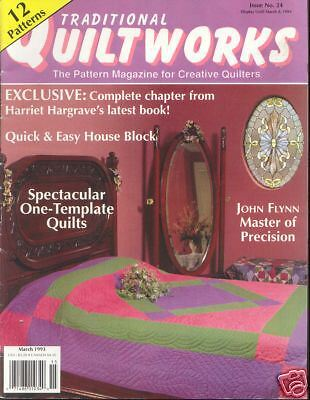 QUILTWORKS ~ March 1993 ~ 12 Patterns
