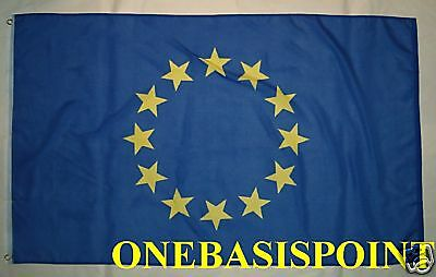 3'x5' European Union Flag Outdoor Indoor Banner New Polyester EU Brussels 3x5