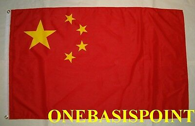 3'x5' China Chinese Flag Outdoor Indoor Banner Communist People's Republic 3X5