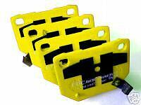Uprated EBC Yellowstuff Rear Brake Pads - For R32 GTS-T Skyline RB20DET