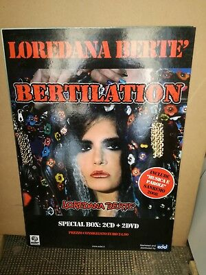 LOREDANA BERTE' NO CD/LP -BERTILATION-cartonato rigido CM 60 X 68