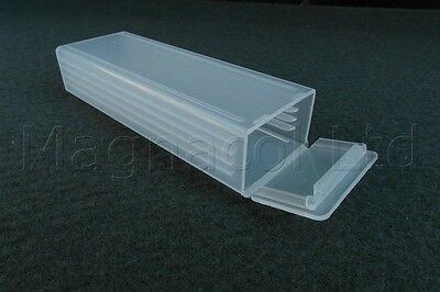 Microscope slide mailer case plastic 5 slide pack of 100