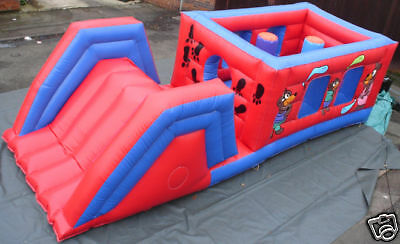 Obstacle Course 8 FT x 23 FT x 7 FT Made To Order