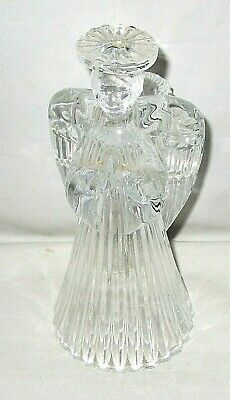 Holiday Glass  Candle Holder [Angel]