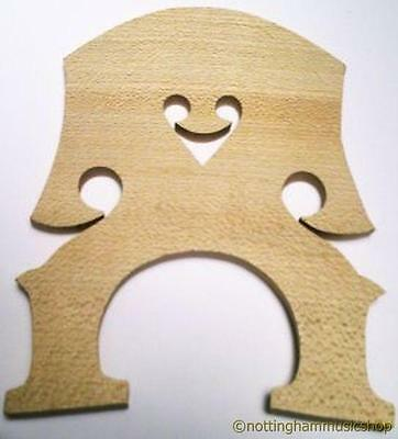 NEW 1/2 SIZE MAPLE DOUBLE BASS BRIDGE CONTRABASS STICK BASS from Janika
