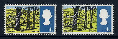 GB ERROR 1966 SUSSEX 4d...POLLARDED TREE + CLOUDY HILLS