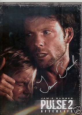 Jamie Bamber Pulse 2  signed autograph autographed