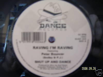 Peter Bouncer - Raving I´m raving     Extrem - Rare 45