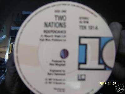 Two Nations - Indepandance / Any luck ( US-Version )