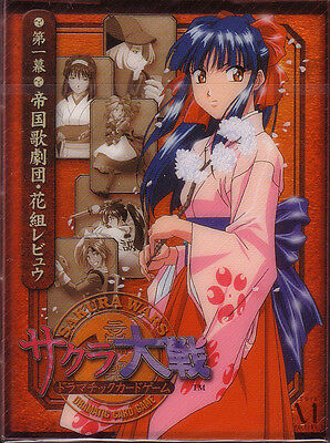 Sakura Wars Dramatic Card Game Starter Deck