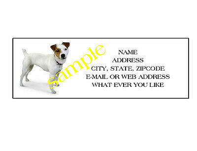 Jack Russell Terrier  Address Labels Cool!!! #1