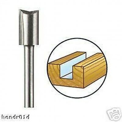 Dremel 654 6.4mm Straight Router Shaper Cutter Bit for High Speed Rotary Tools