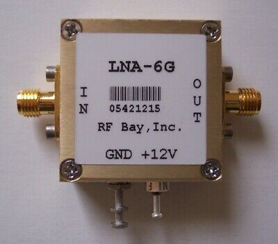 500-6000MHz Low Noise Amplifier, LNA-6G, New, SMA