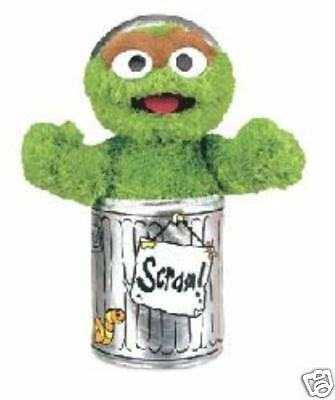 "Oscar the Grouch Doll - Sesame Street - by GUND - 10"" - BRAND NEW - #075860"