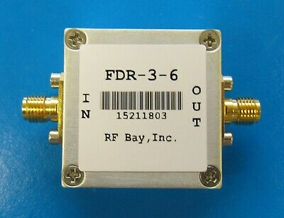 Frequency Doubler 1.25-3.0GHz Input, FDR-3-6, New, SMA