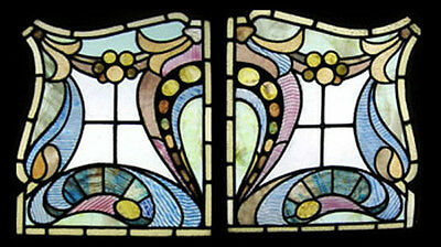 The Very Best Antique Victorian English Stained Glass Windows  Rare