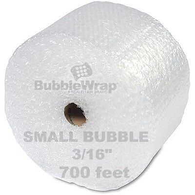 "Bubble Wrap 700 ft  x 12"" Small Sealed Air 3/16 Best"