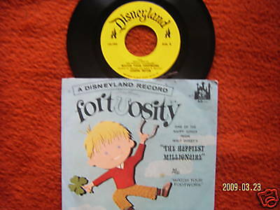 Fortuosity  Song from The Happiest Millionaire  orig.US