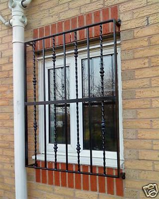 D.I.Y. WINDOW SECURITY GRILLES BARS garage office home