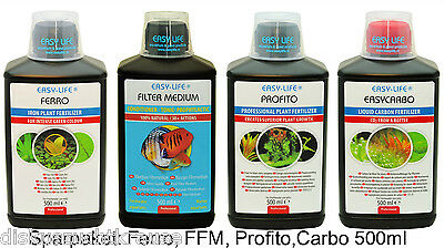 Easy Life Ferro, Pro Fito, FFM & Carbo - 4 x 500 ml  Easylife Neu&OVP