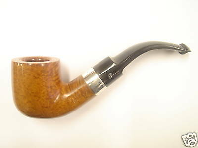 Peterson Pipe Deluxe Silver Mounted 01s Large P-LIP