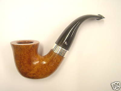 Peterson Pipe Deluxe Silver Mounted 05 Large P-LIP