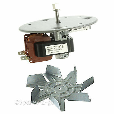 HOTPOINT & INDESIT Oven Cooker FAN MOTOR Air Blade 6101033 Genuine Spare Part
