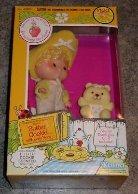 Butter Cookie  Strawberry Shortcake Mib Sealed 1982