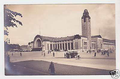 Helsinki - Real Photo Postcard c1920 / Finland
