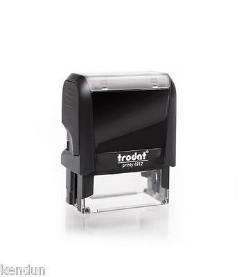 TRODAT PRINTY 4912 SELF INKING RUBBER STAMP 45mm x 16mm