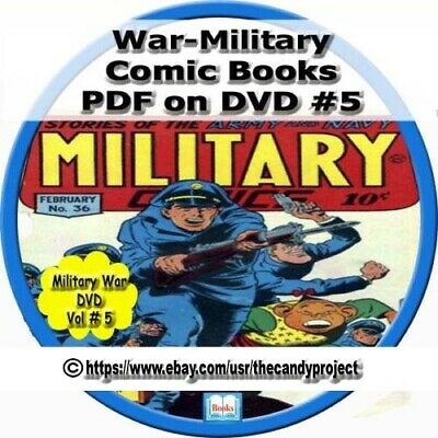 War Military Military Comics Real Life Soldiers of Fortune War At Sea DVD Vol #5