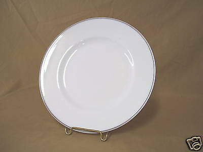 Crown Staffordshire Platinum Band Bread Plate