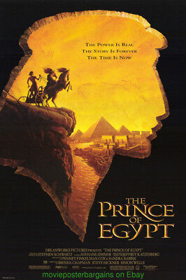 Prince Of Egypt Movie Poster  Dreamworks Animation