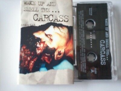 "Carcass ""Wake Up And Smell The Carcass"" Cassette Tape"