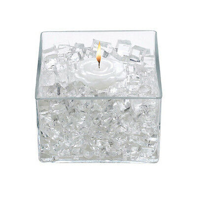 Vase Filler Water Storing Gel Cubes for Flowers Candles