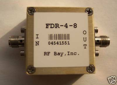 Frequency Doubler 2.0-4.0GHz Input, FDR-4-8, New, SMA