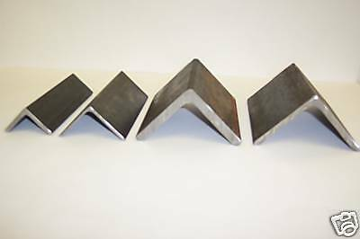 4 x 4 x 1/4  INCH THICK STEEL  ANGLE IRON