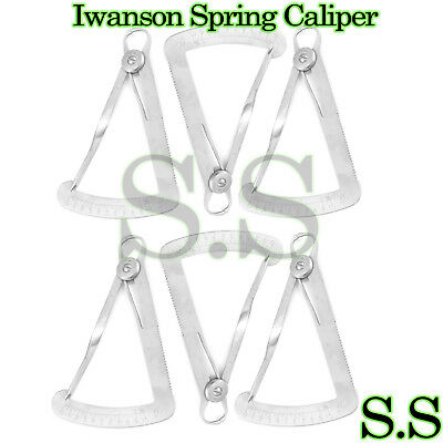 Crown Gauge (Spring Caliper) Dental InstrumenTS 10 PCS