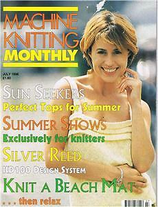 Machine Knitting Monthly~Vol11 No4~July 1996~Summer Top