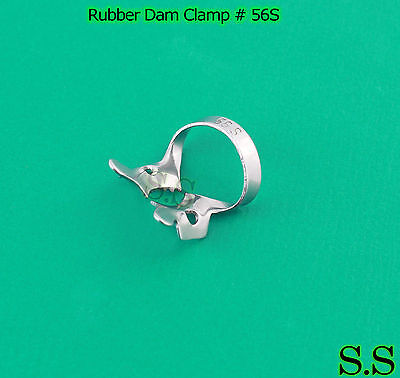 12 Pcs Endodontic Rubber Dam Clamp #56S
